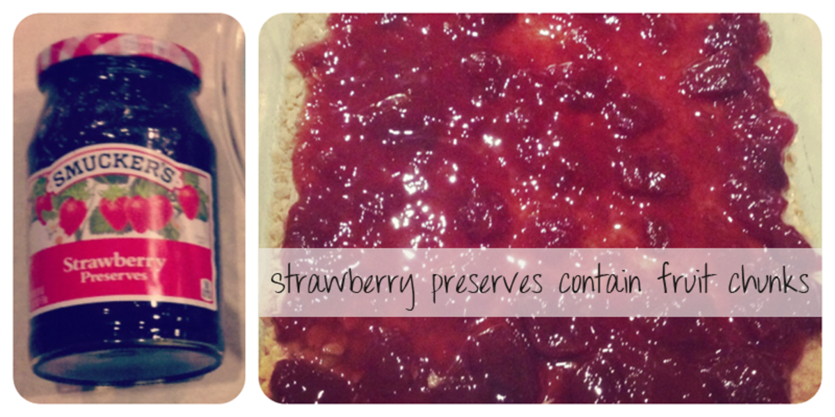 Baking with Strawberry Preserves