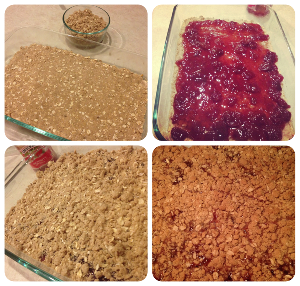 Home Made Oatmeal Bars