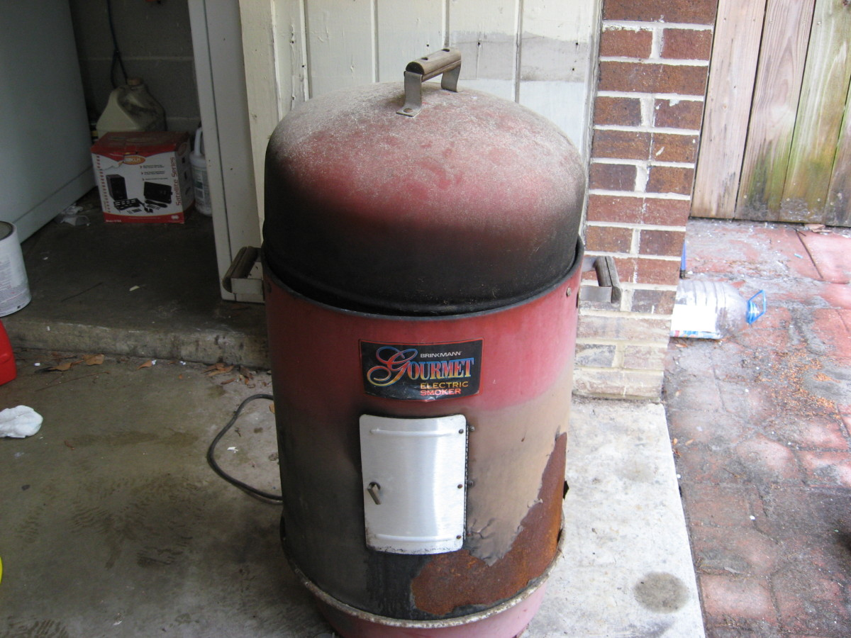 This is our Brinkmann Electric Smoker