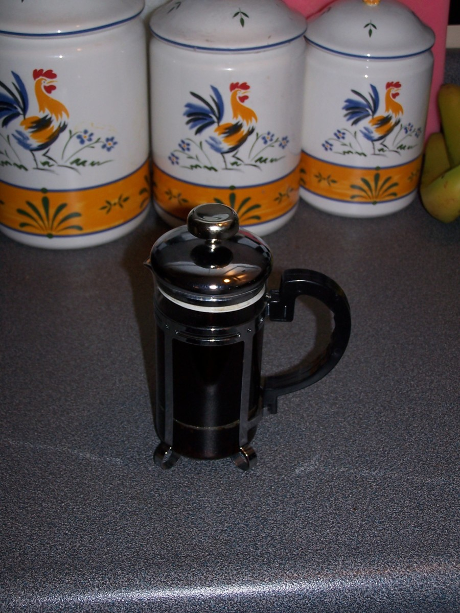 Brewing chicory in a French press is just the same as brewing coffee.