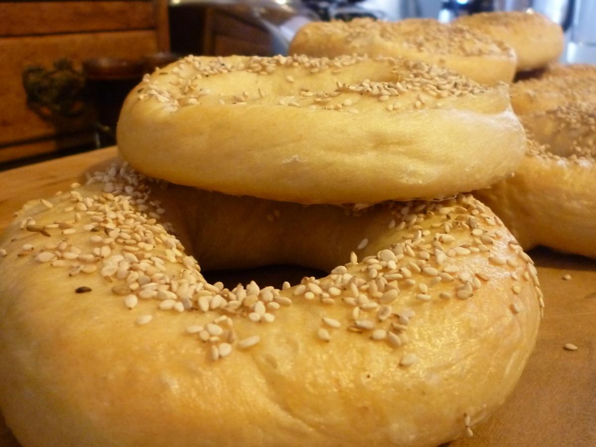 Great breakfast bagels