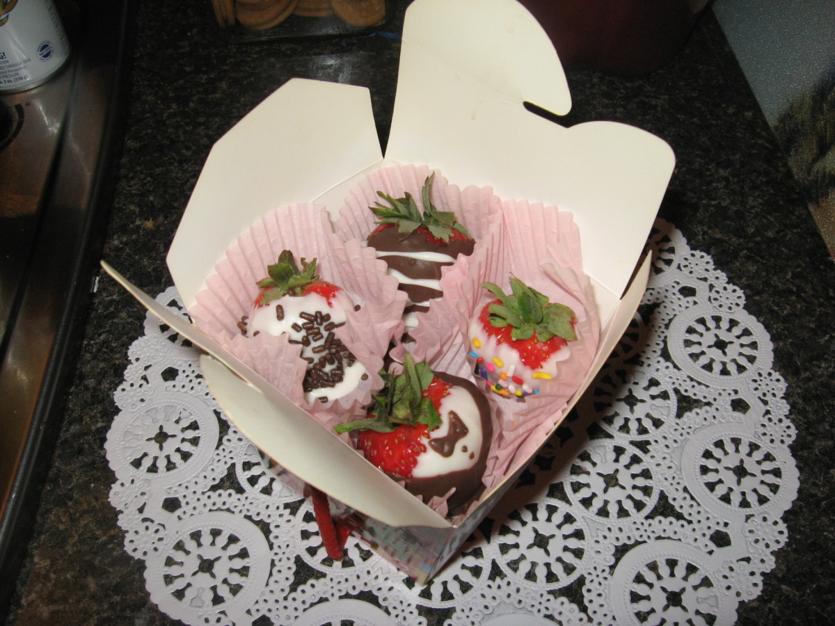 Chocolate Strawberries - great gifts!