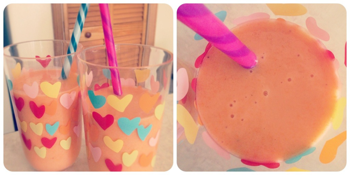How to Make Banana Smoothies with Carrots