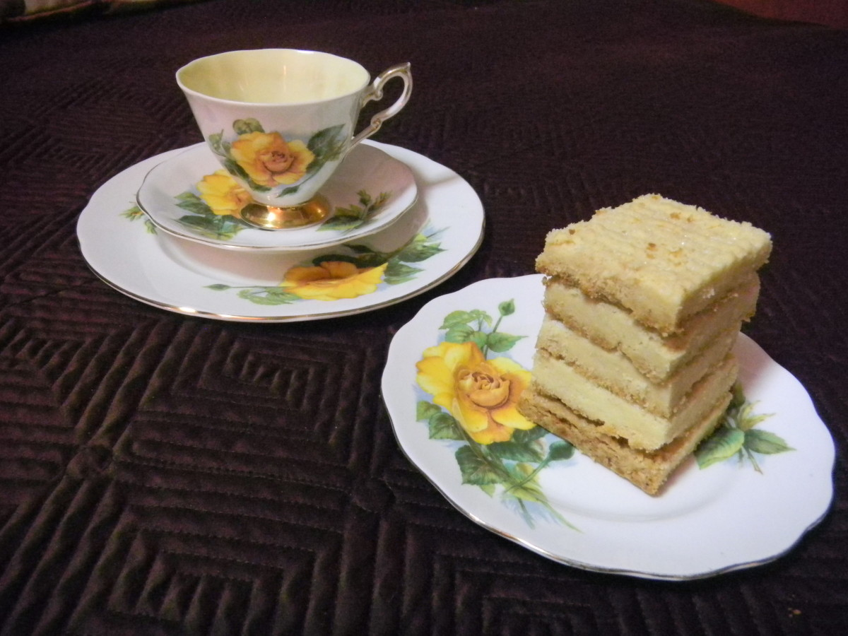 Enjoy your tea with your own shortbread.