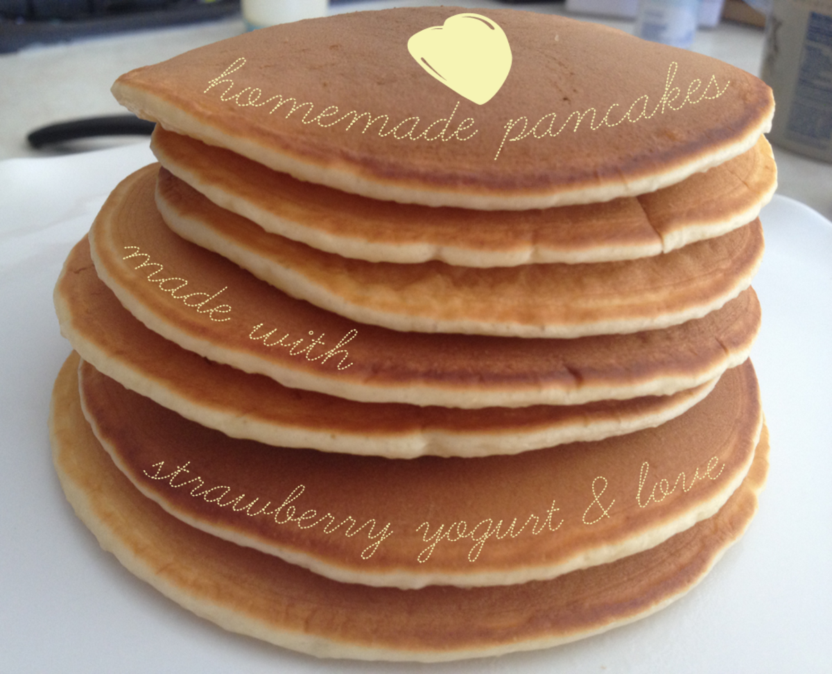 Simple Pancakes from Scratch