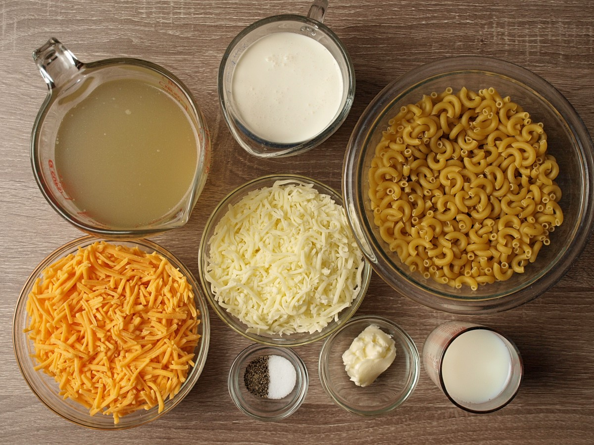 Instant-pot mac and cheese ingredients