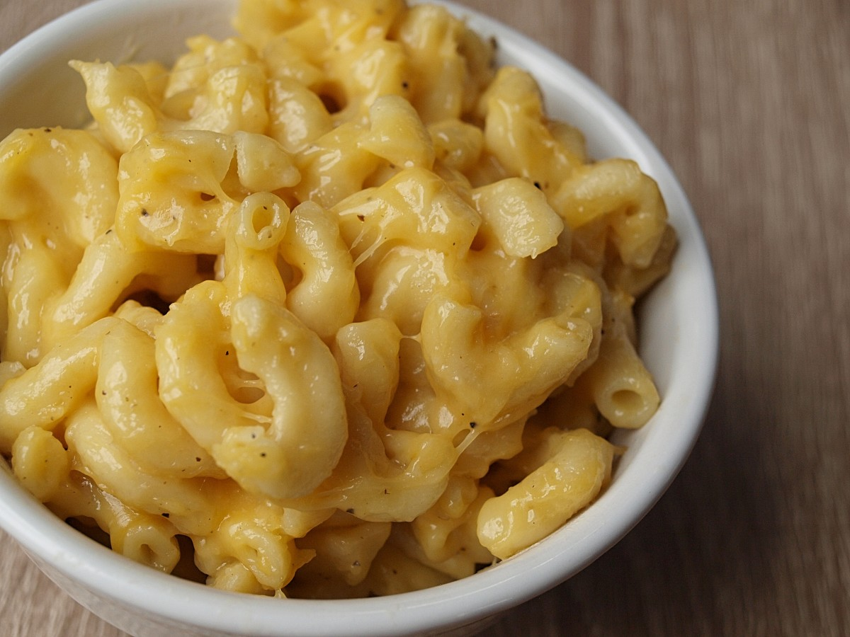 Irresistible pressure-cooker mac and cheese