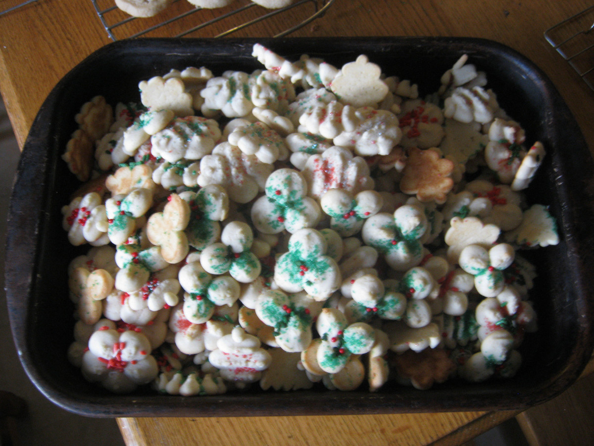 Spritz Cookies—an Old-Time Favorite