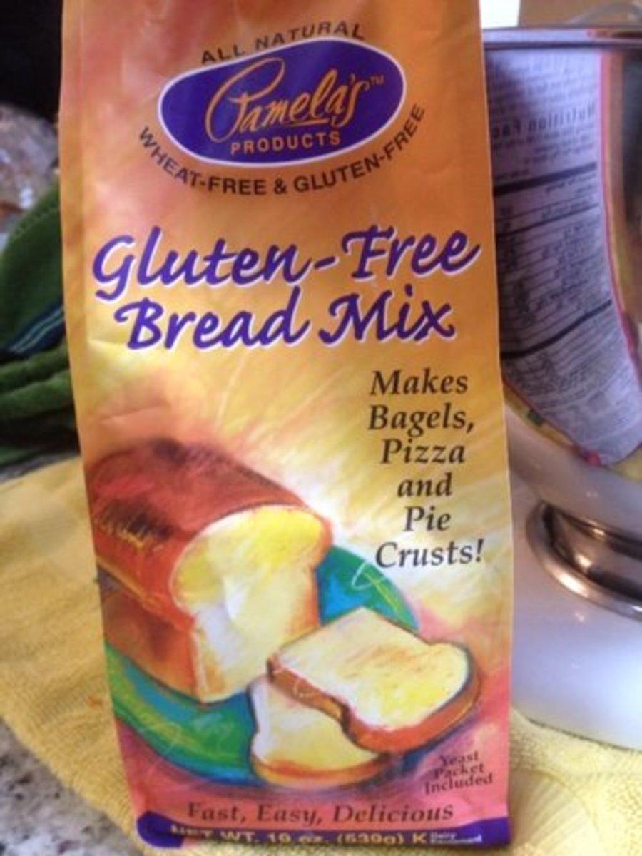 Gluten Free Bread Mix from Pamela's