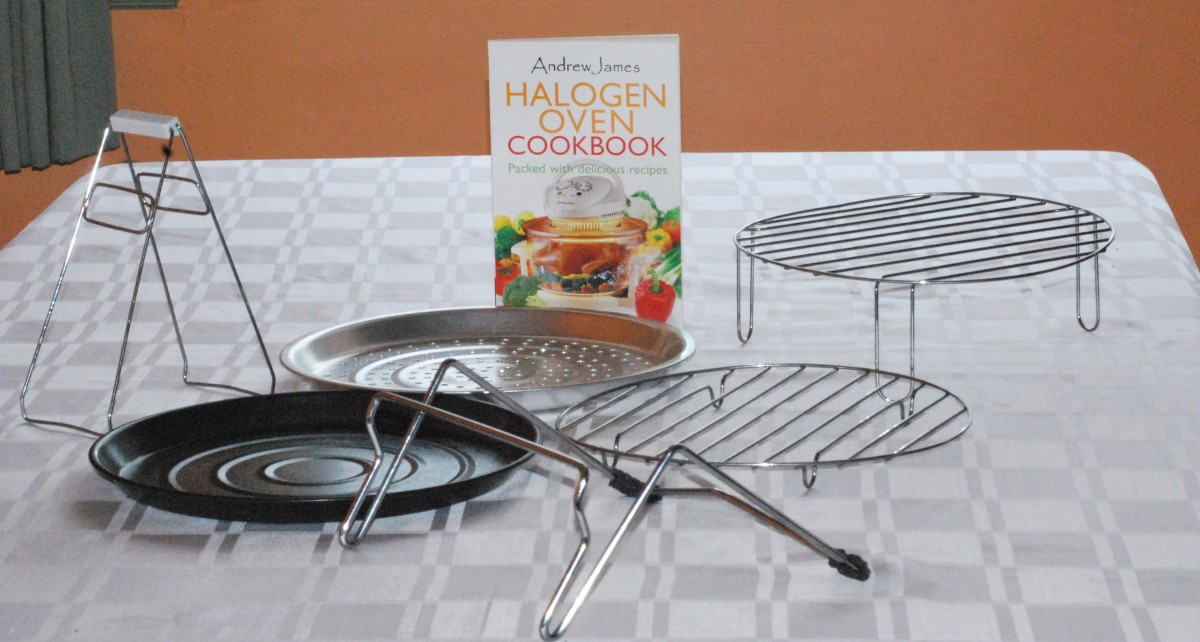 Andrew James have the most accessories, including the lid stand and a cookbook