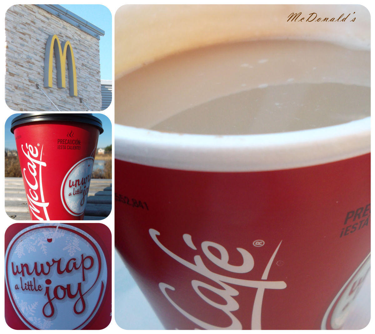 McDonald's Hot Chocolate (McCafe)
