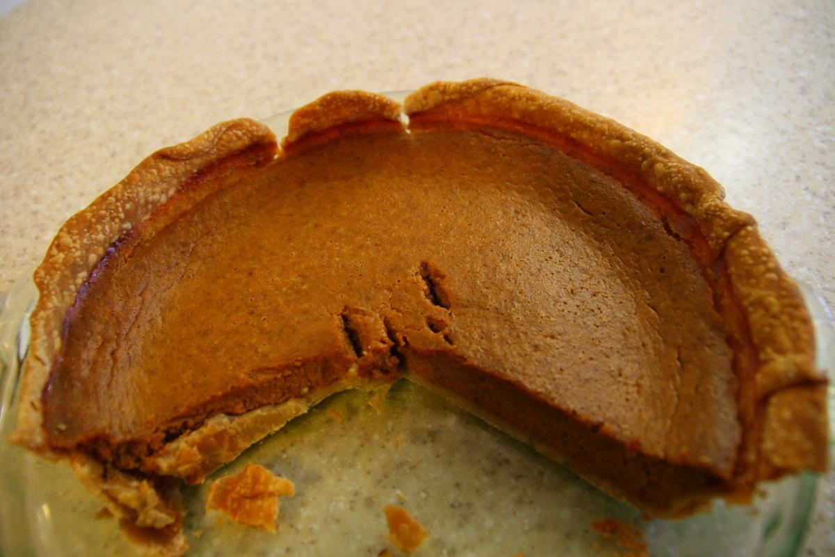Nothing tastes better than warm, fresh pumpkin pie!