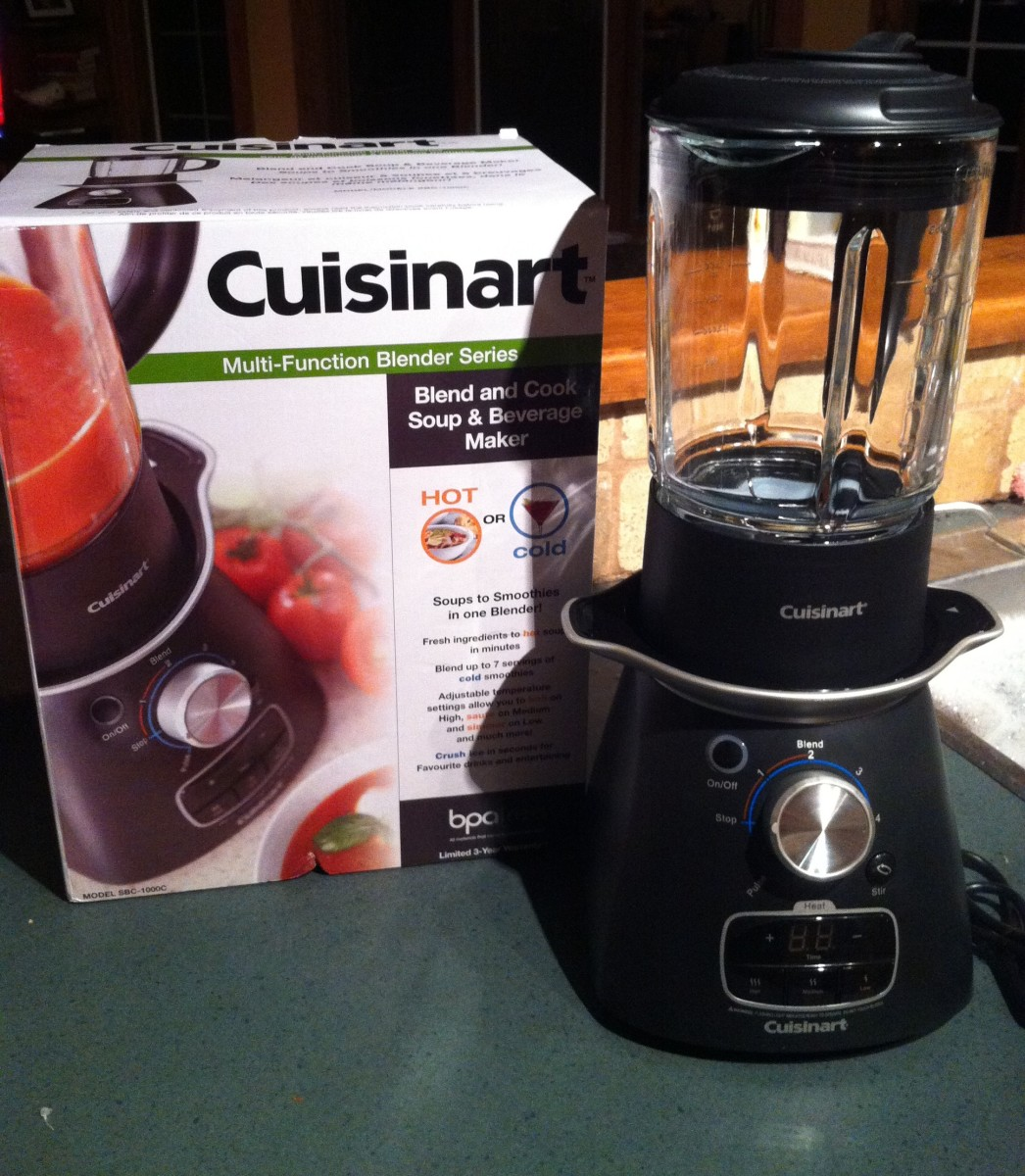 The Cuisinart Soup Maker is a welcome addition to my kitchen.