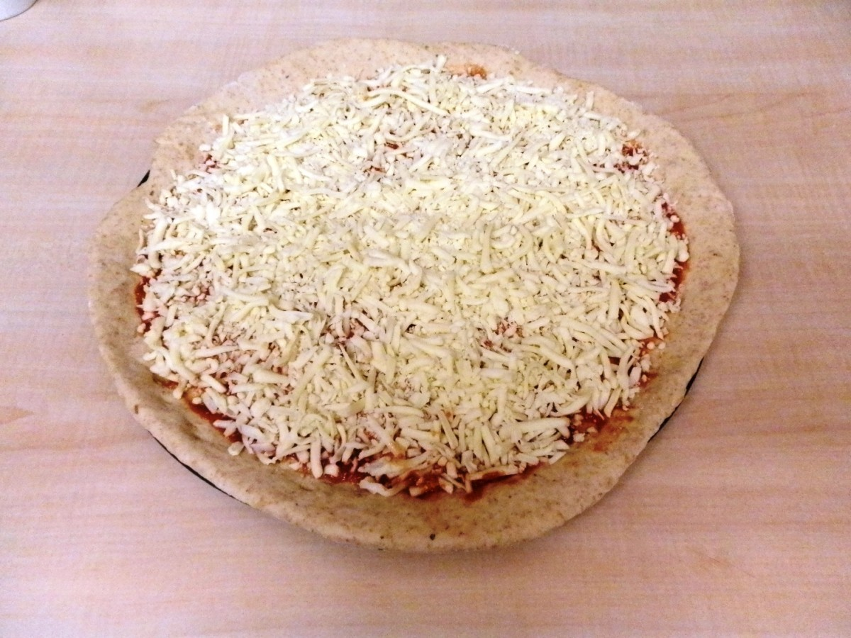 Sprinkle on grated cheese