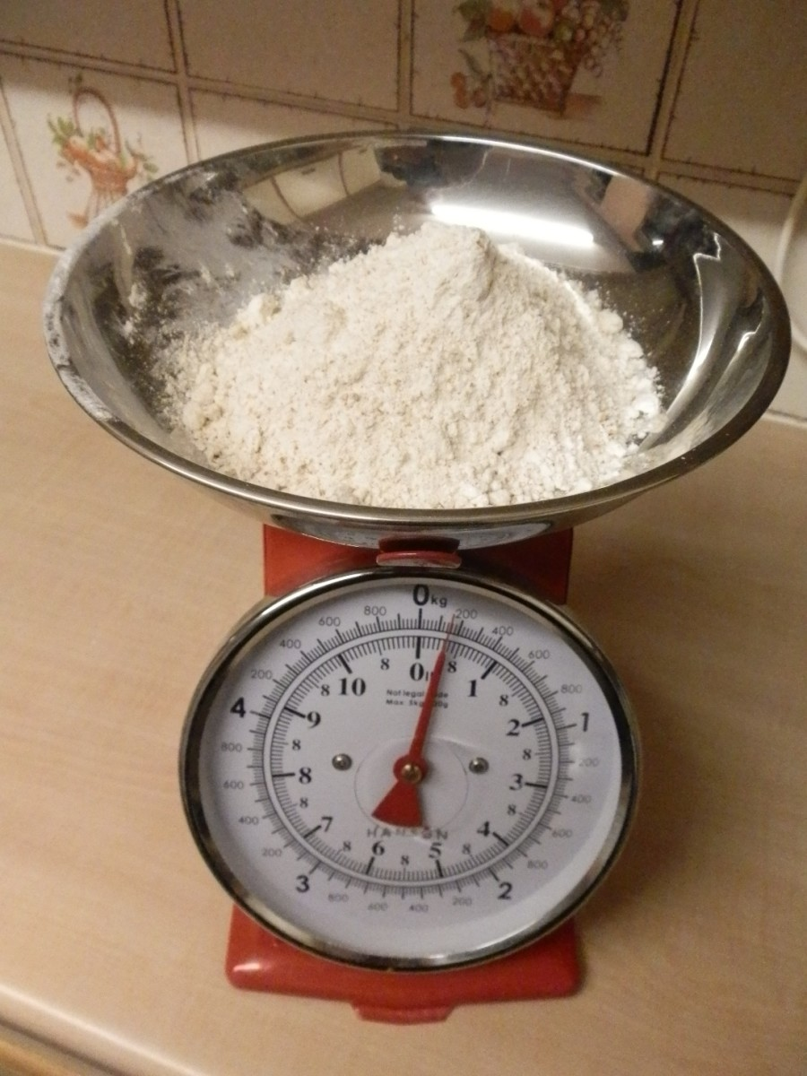 150g strong brown flour