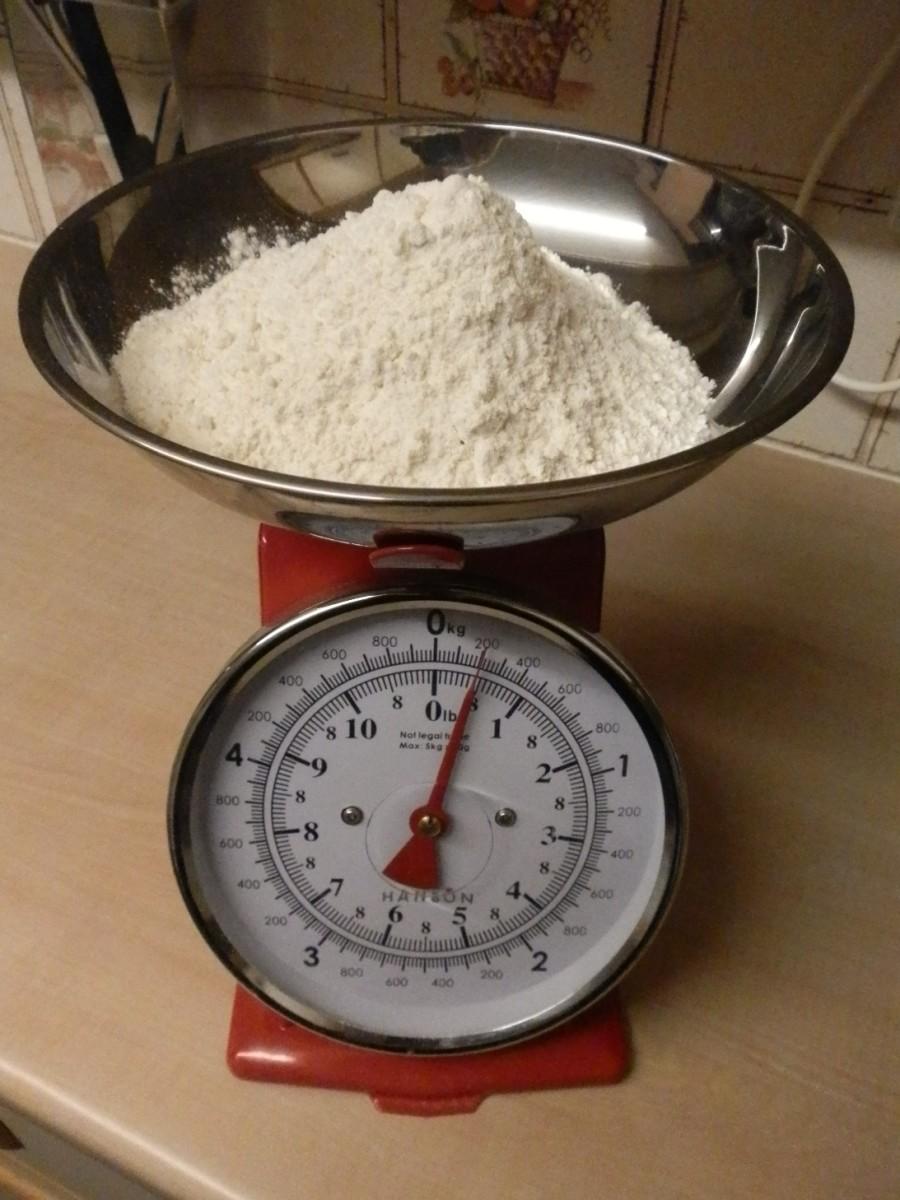 200g strong white flour