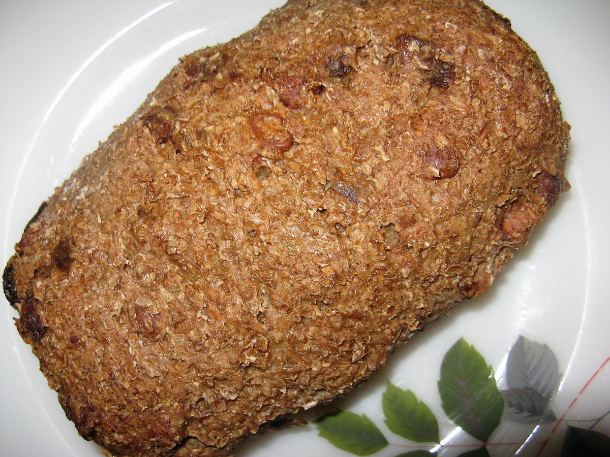 Whole grain bread is a nutritious food.