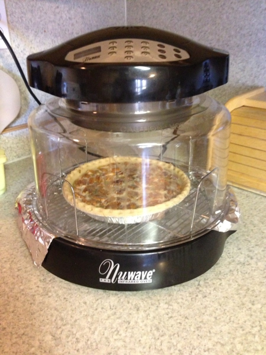 NuWave Oven Pro saves money, energy, and oven space.