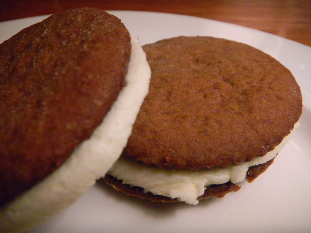 Ginger Snap Creams