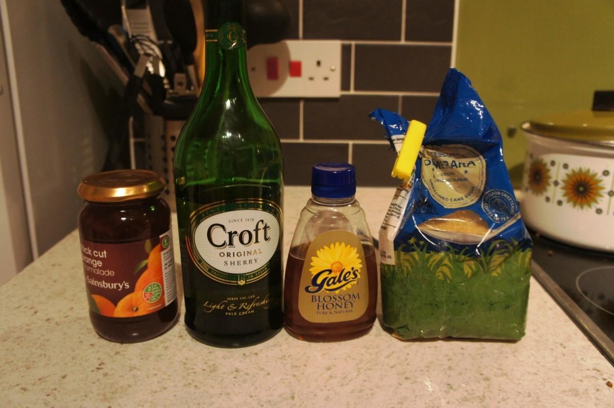 Glaze Ingredients...