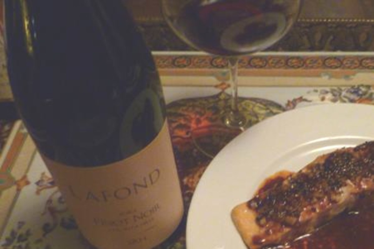 ginger-roasted-salmon-with-pinot-noir-sauce