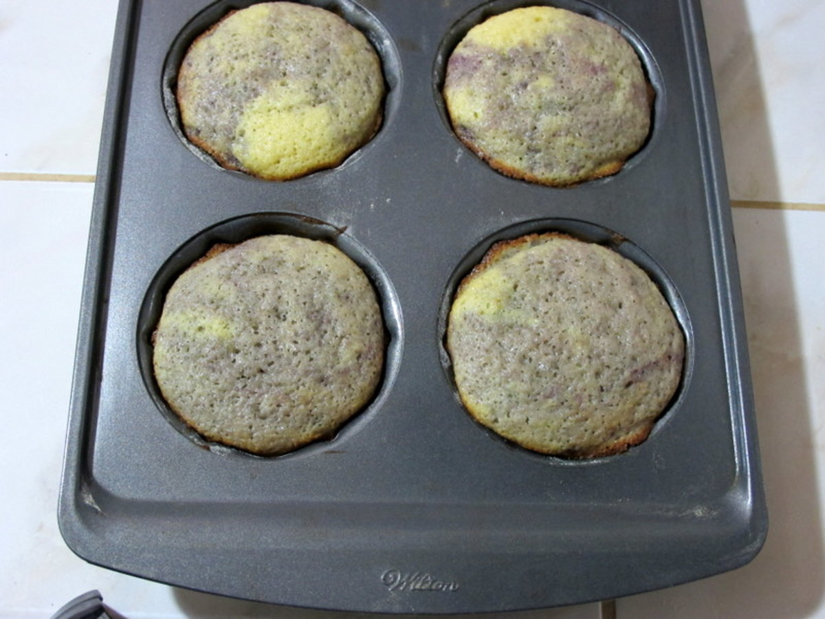 Cool cakes 15 minutes before inverting onto a cooling rack.