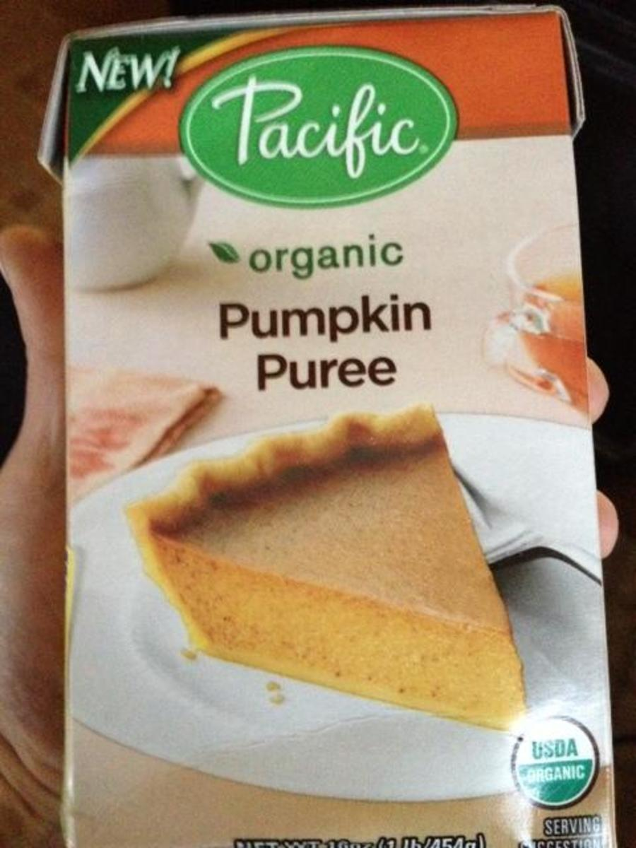 I used organic pumpkin puree for these muffins but you can use canned pumpkin.  Just make sure it is NOT pumpkin pie filling!