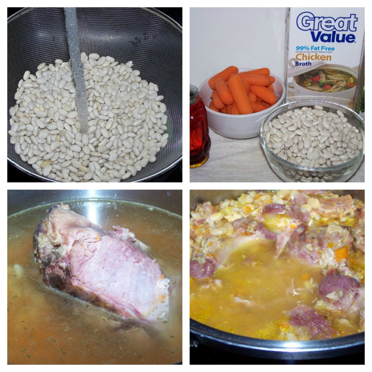 Preparing the soup