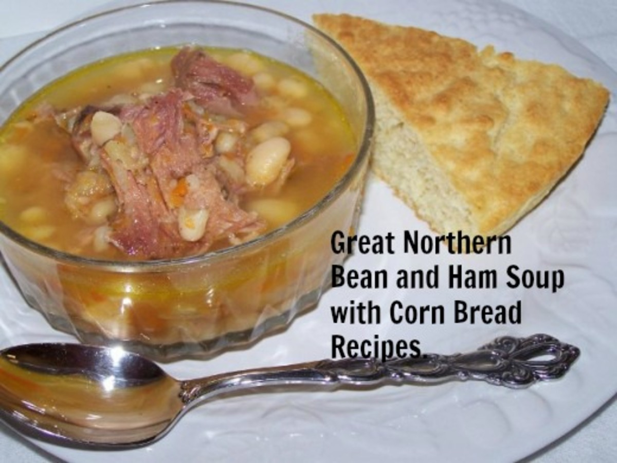 Soup and corn bread make a winning combination