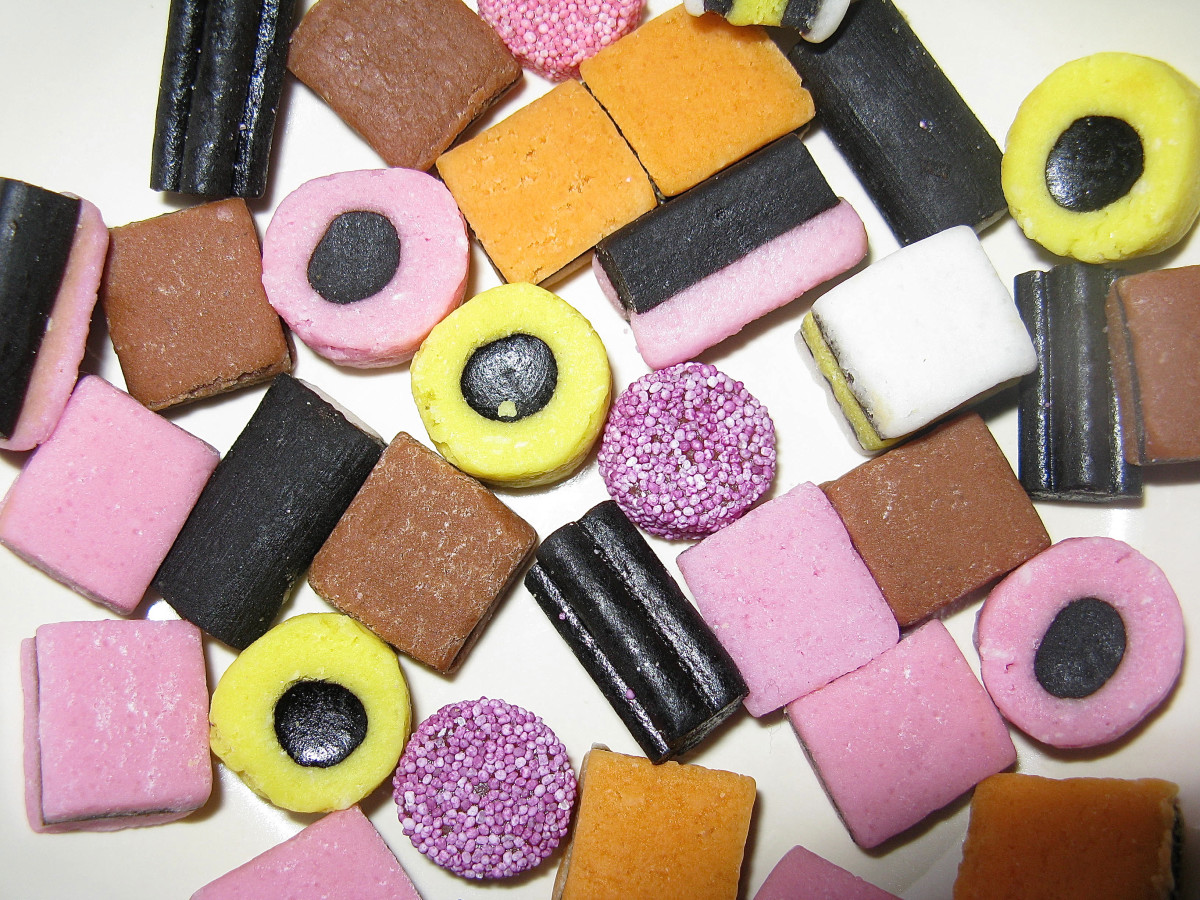 Candy Facts and History - Jelly Babies and Liquorice Allsorts