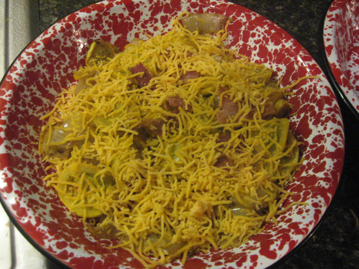 Top with grated cheese.