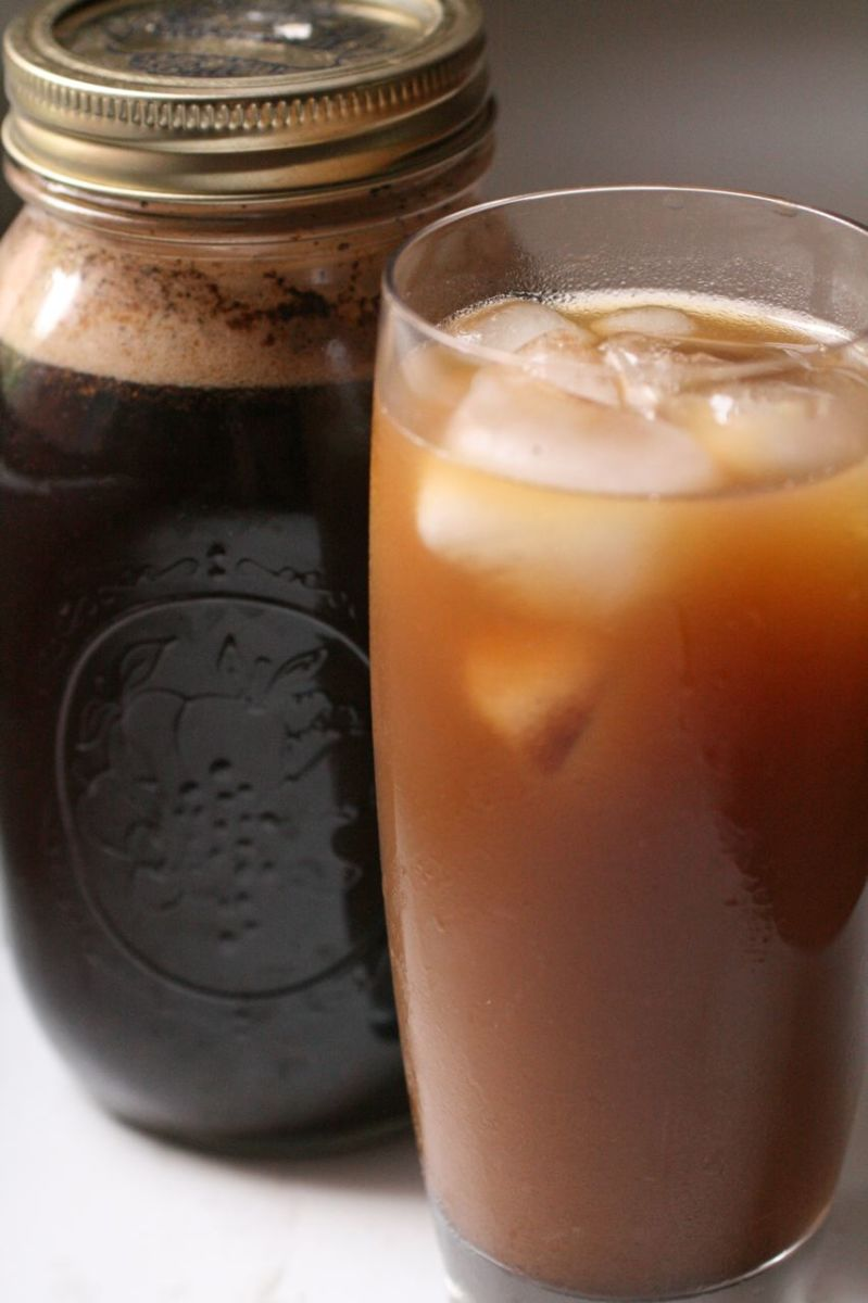 Homemade Caramel Macchiato that tastes just like the Starbucks version.