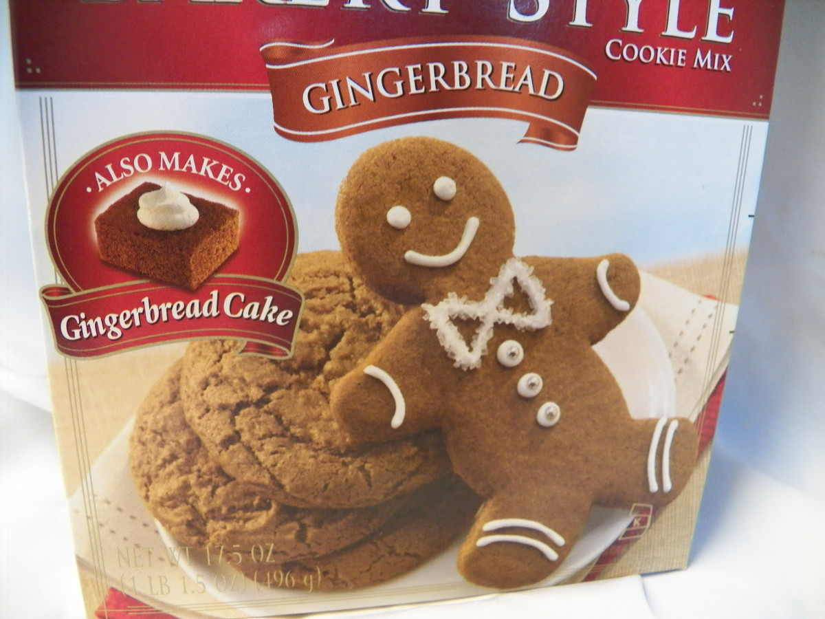 Gingersnaps or Gingerbread