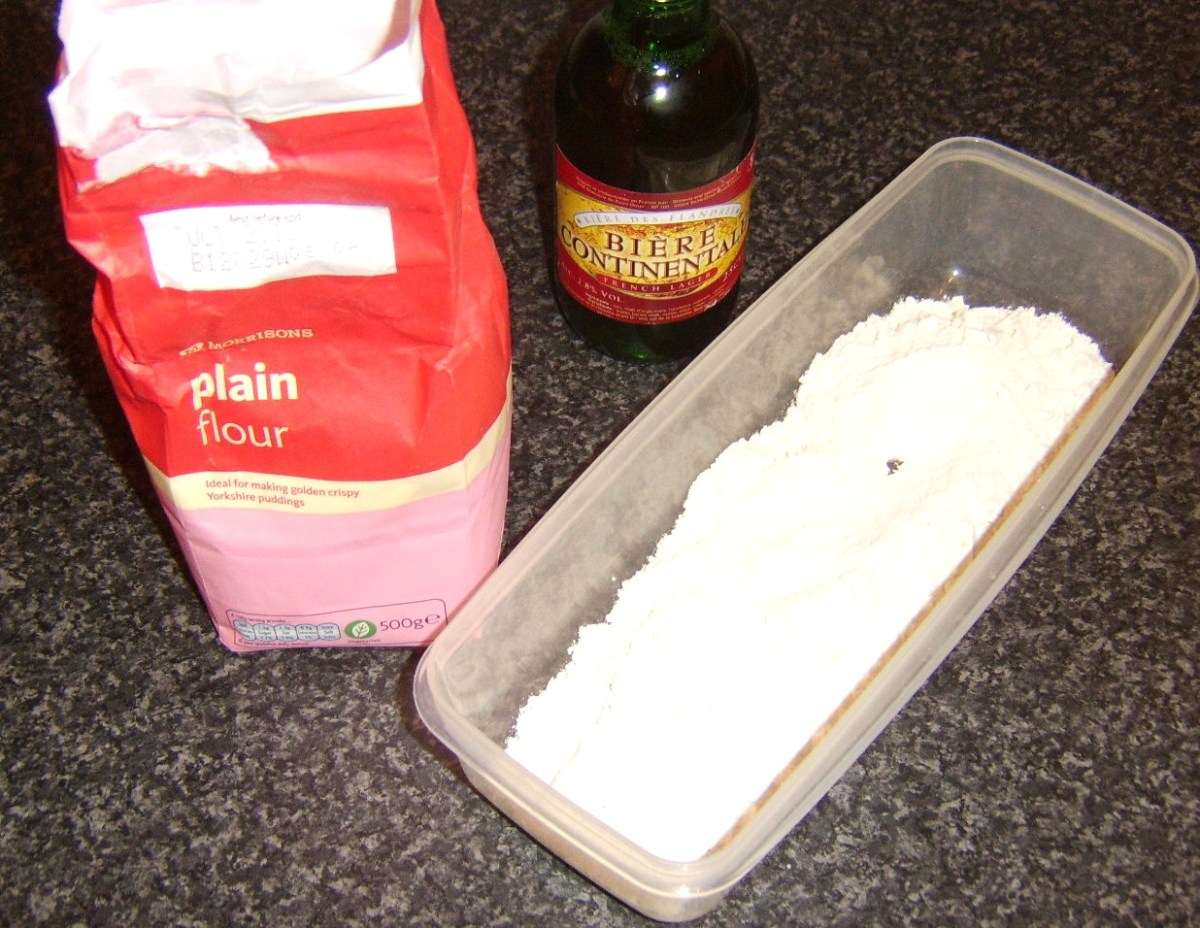 Beer batter ingredients