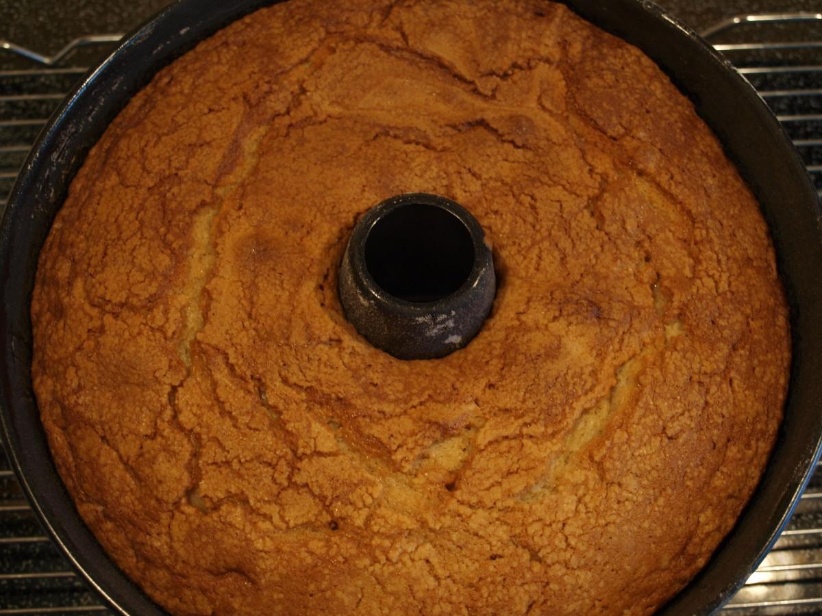 Finished baking