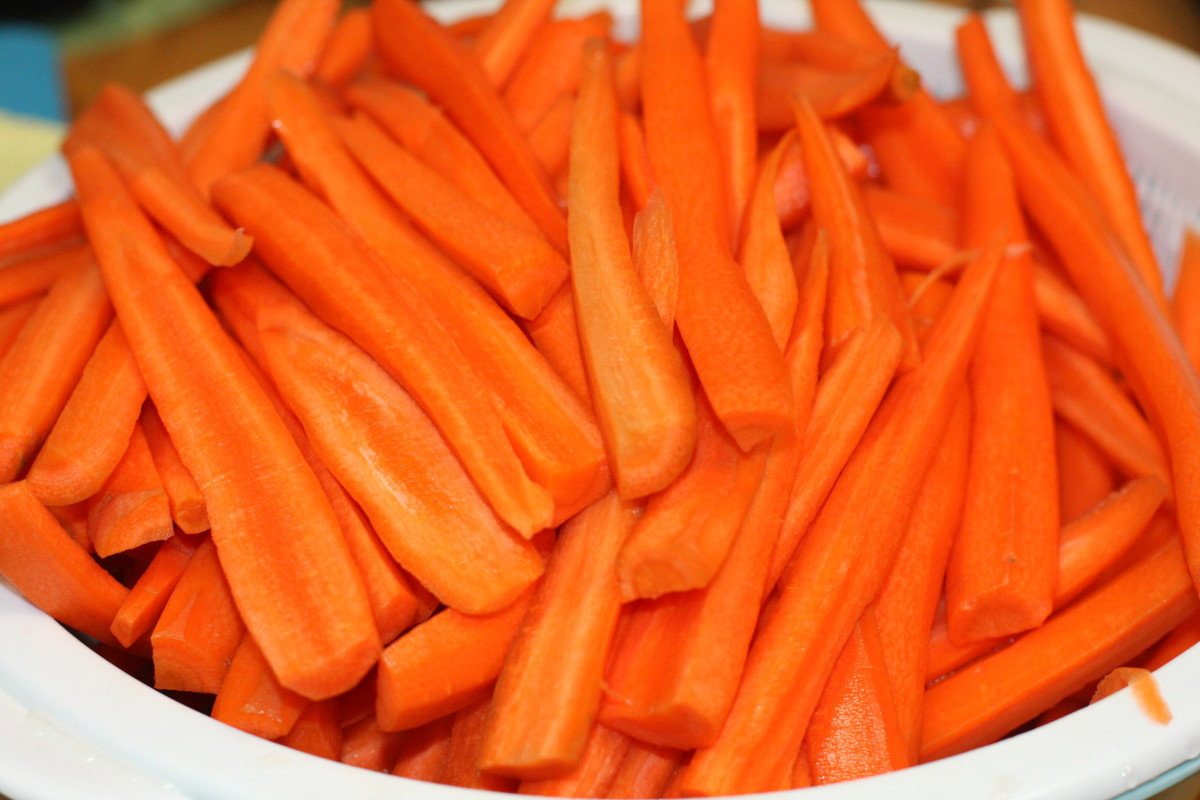 When was the last time you ate this many carrots?
