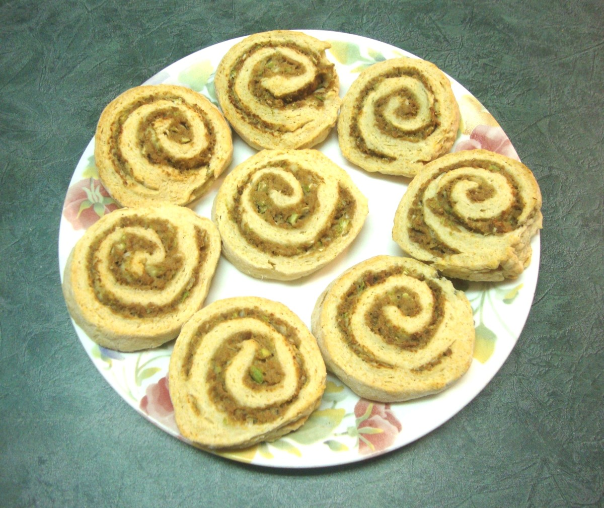 Turkey-Filled Biscuit Spirals