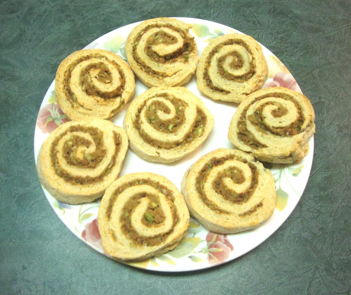 Turkey-Filled Biscuit Spirals