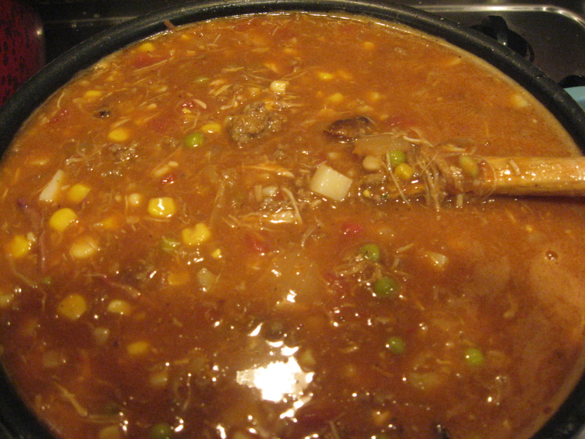 This is a rich, hearty stew.