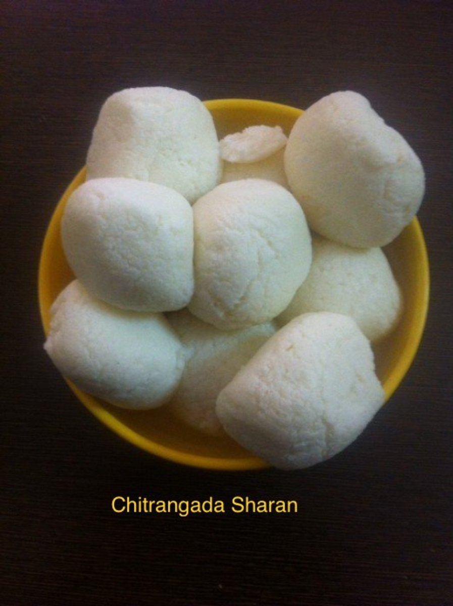 Rasogulla is one of the most popular sweet, made with cottage cheese or paneer