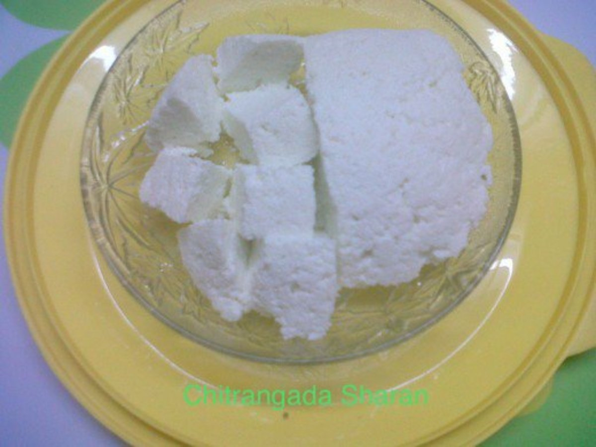 Step 5– Home made Paneer or cottage cheese is ready to be used