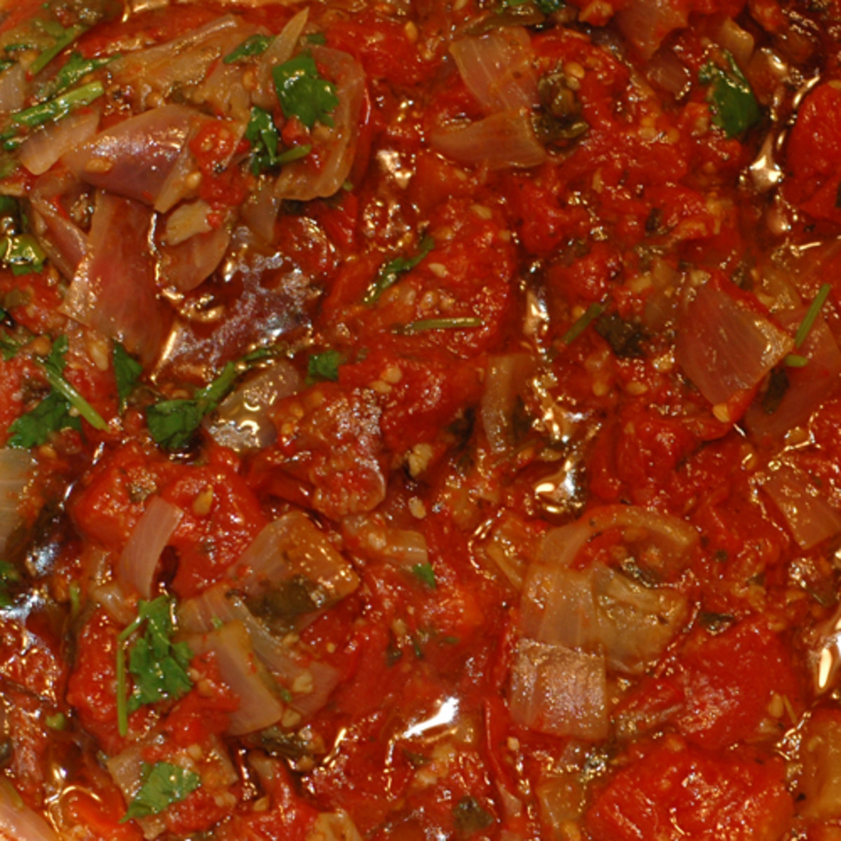 The Finished Rustic Pasta Sauce