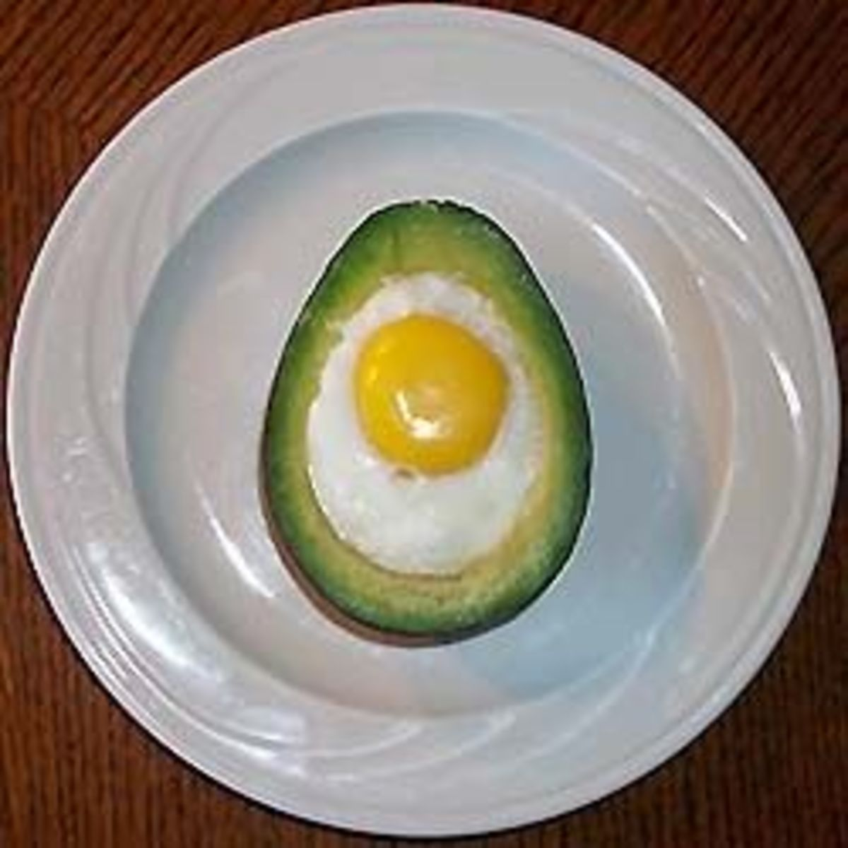 Even plated simply, this eggvocado did not last long.
