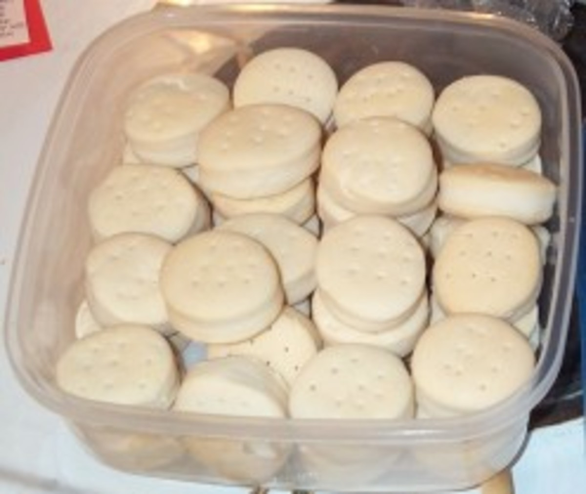 BEATEN BISCUITS offer a pleasing variation, with a subtle difference in flavor and texture..