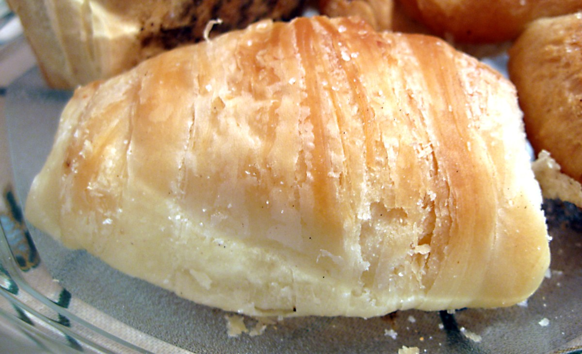 FLAKY SCONES have delicious written all over them.