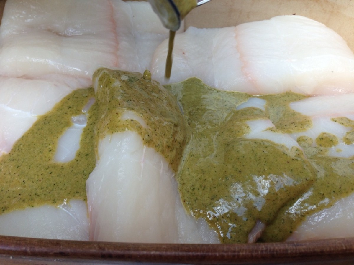 Halibut Marinade