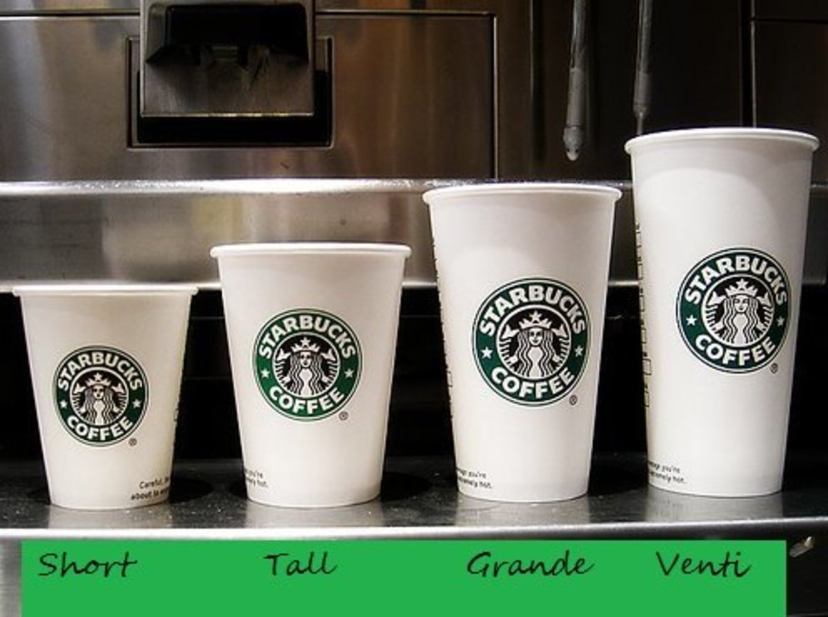 Hot Cup Sizes