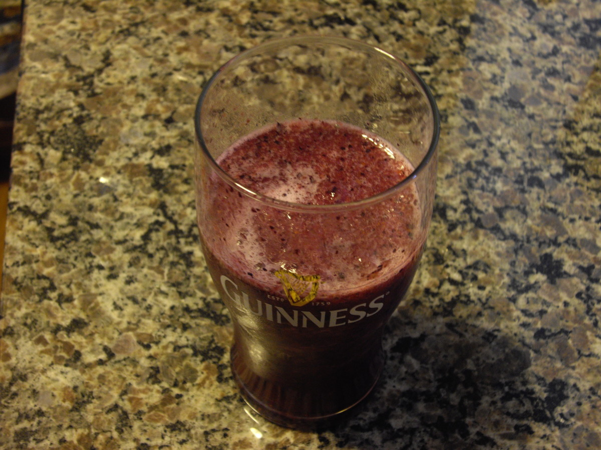 The final product is cold and slushy, and extremely tasty and energizing
