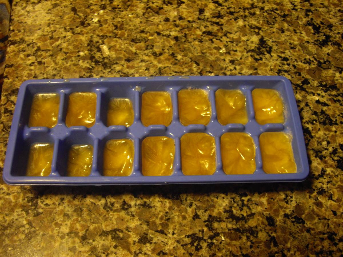 Tea Ice Cubes