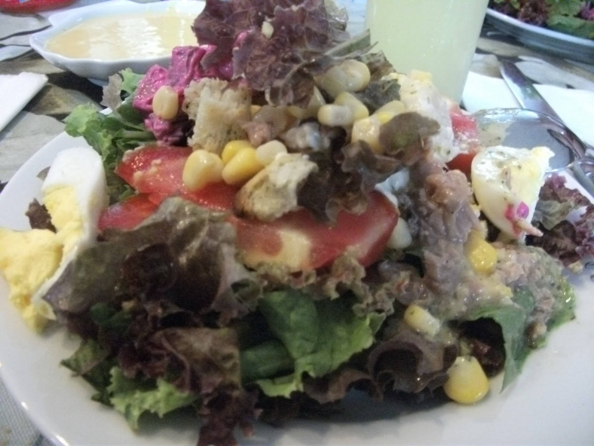 Salad from The Dining Room by Gourmet